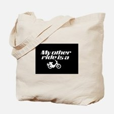 My Other Ride is a Moped (Dark) Tote Bag