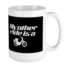 My Other Ride is a Moped (Dark) Mug
