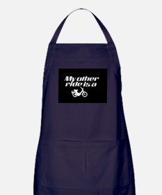 My Other Ride is a Moped (Dark) Apron (dark)