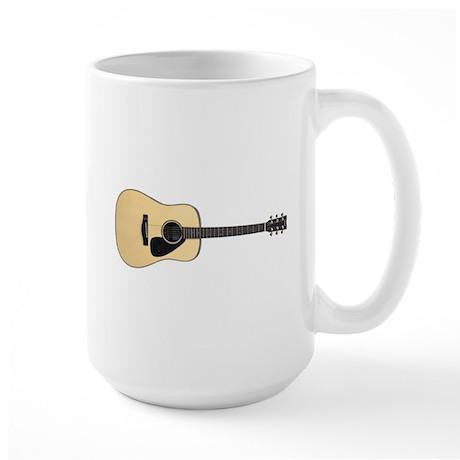 Acoustic Guitar Large Mug