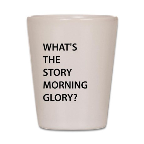 Oasis - Whats The Story? Shot Glass