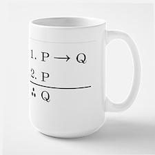 Modus Ponens Large Mug