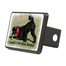 I am the Boss Poodle Hitch Cover