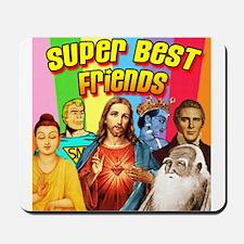 Super Best Friends Mousepad