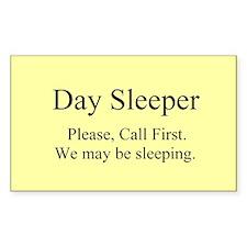 Day Sleeper Decal