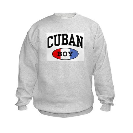 Cuban Boy Kids Sweatshirt