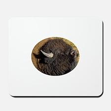 bison face Mousepad