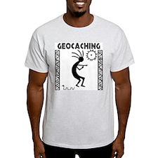 Kokopelli Ash Grey T-Shirt T-Shirt