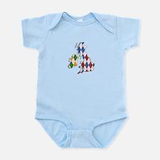 British Isles Infant Bodysuit
