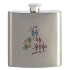 British Isles Flask