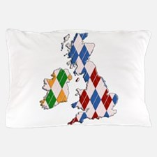 British Isles Pillow Case