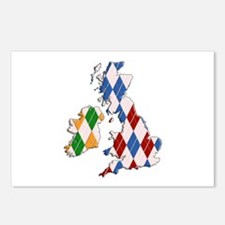 British Isles Postcards (Package of 8)