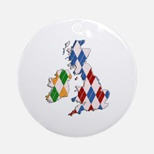 British Isles Ornament (Round)