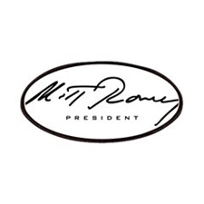 Mitt Romney President Signature Patches
