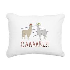 CAAAARL!! Rectangular Canvas Pillow