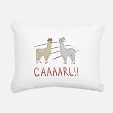 CAAAARL!! Rectangular Canvas Pillow