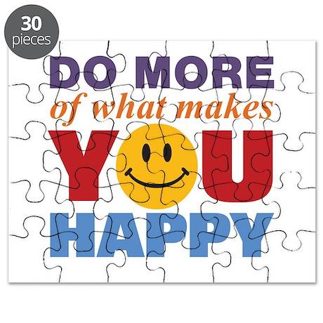 Do More Happy Puzzle