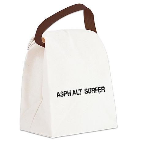 Asphalt Surfer Canvas Lunch Bag