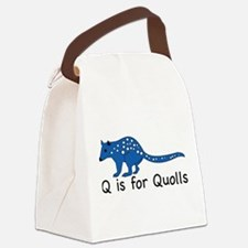 Quolls 10 Canvas Lunch Bag
