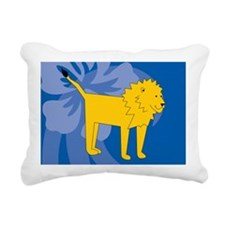 Lion Rectangular Canvas Pillow
