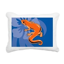 Newt Rectangular Canvas Pillow