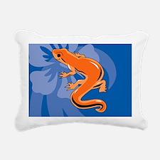 Newt Rectangular Canvas Pillow