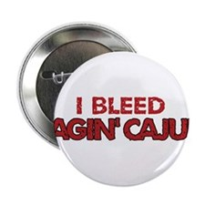 "I Bleed Ragin' Cajun (Red) 2.25"" Button"