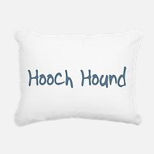 HoochHound10.png Rectangular Canvas Pillow