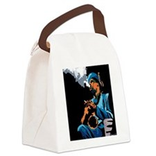 sideman10x10.png Canvas Lunch Bag