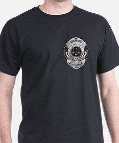 Black Process Server Shirt T-Shirt
