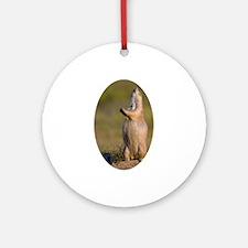 howling prairie dog Ornament (Round)