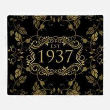 Established 1937 Throw Blanket