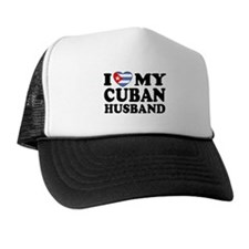 I Love My Cuban Husband Trucker Hat