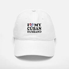I Love My Cuban Husband Baseball Baseball Cap
