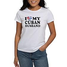 I Love My Cuban Husband Tee