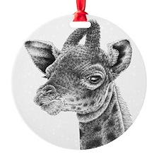 Baby Giraffe Ornament