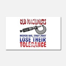Machinist Car Magnet 20 x 12