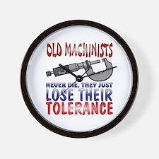 Machinist Wall Clock