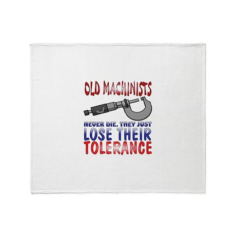Machinist Throw Blanket