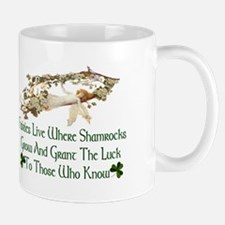 'Where Shamrocks Grow' Mug