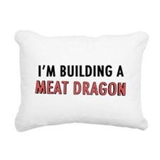 Meat Dragon Rectangular Canvas Pillow
