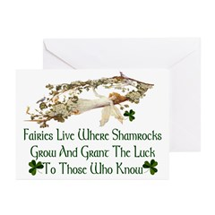 'Where Shamrocks Grow' Cards (Pk of 10)