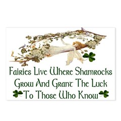 'Where Shamrocks Grow' Postcards (Package of 8)
