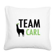 Team Carl Square Canvas Pillow