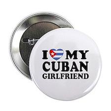 I Love My Cuban Girlfriend Button