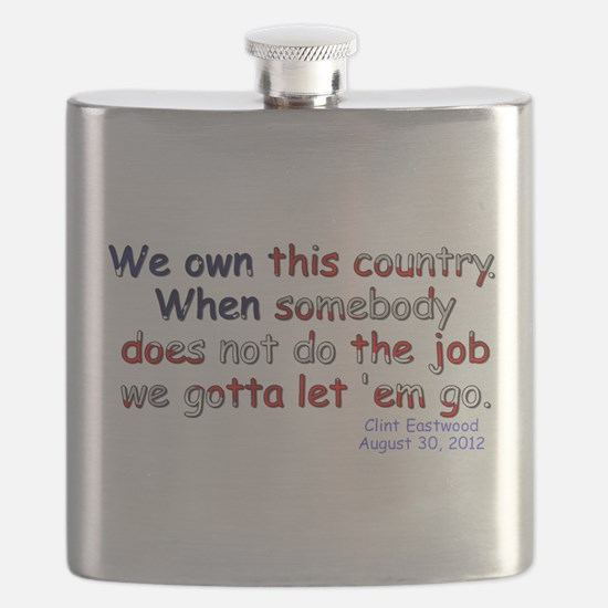 We Own This Country - Flask