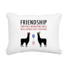 Friendship Rectangular Canvas Pillow