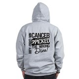 Lung cancer Zip Hoodie