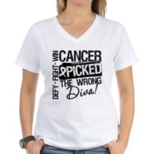 Wrong Diva Lung Cancer Shirt