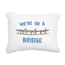 Bridge Rectangular Canvas Pillow